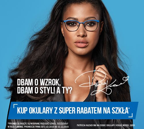 """Ruszyła kampania optyczna """"DBAM O WZROK, DBAM O STYL! A TY?"""""""